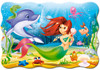 Little Mermaid - 20pc Jigsaw Puzzle By Castorland (discon-24012)