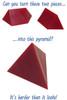 2pc Pyramid - Classic Brain Teaser (discon-11080)