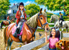 Horse Riding - 300pc Jigsaw Puzzle By Castorland