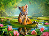 Tiger Lily - 300pc Jigsaw Puzzle By Castorland