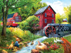 Playing Hookey at the Mill - 1000pc Jigsaw Puzzle by Sunsout