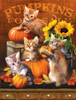 Autumn Kitties - 300pc Large Format Jigsaw Puzzle by SunsOut