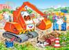 Orange Excavator - 35pc Jigsaw Puzzle By Castorland (discon-24046)