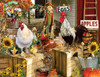 Chickens on the Farm - 1000+pc Large Format Puzzle by SunsOut