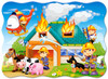 Fire Brigade in Action - 30pc Jigsaw Puzzle By Castorland (discon-24055)