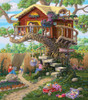 Girl's Clubhouse - 300pc Large Format Jigsaw Puzzle by SunsOut