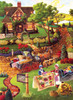 Mary's Quilt Country - 500+pc Large Format Jigsaw Puzzle by Sunsout