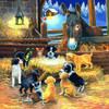 Barnyard Nativity - 500pc Jigsaw Puzzle by SunsOut