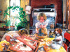 Baking Cookies - 1000pc Jigsaw Puzzle by SunsOut