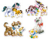 Animals with Babies - 4,5,6,7pc Jigsaw Puzzle By Castorland