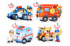 Rescue Services - 4,5,6,7pc Jigsaw Puzzle By Castorland