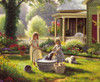 Spring Cleaning - 1000pc Jigsaw Puzzle by Sunsout (discon-21393)
