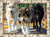 Wolf Pack Colors - 1000pc Jigsaw Puzzle by Sunsout