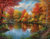 Autumn Tranquility - 1000+pc Large Format Jigsaw Puzzle by SunsOut