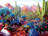 Cactusland - 1000pc Jigsaw Puzzle by Sunsout