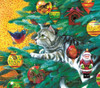 Christmas Tree Cat - 300pc Large Format Jigsaw Puzzle by Sunsout (discon-21041)