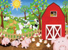 Animal Farm - 63pc Jigsaw Puzzle by SunsOut