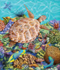 Turtle Pool - 200pc Jigsaw Puzzle by Sunsout