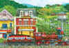 Pleasant Valley Stop - 200pc Jigsaw Puzzle by Sunsout (discon)