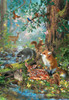Gathered in the Forest - 100pc Jigsaw Puzzle by SunsOut