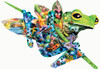 Shaped Jigsaw Puzzles - Paradise Frogs