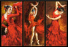 Crimson Dancers - 1000pc Jigsaw Puzzle By Castorland (discon)