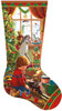 A Boy's Stocking - 800pc Shaped Jigsaw Puzzle by SunsOut