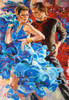 Dance in the Turquoise Tones - 1000pc Jigsaw Puzzle By Castorland