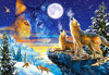 Howling Wolves - 1000pc Jigsaw Puzzle By Castorland