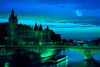 La Seine, Paris - 1000pc Glow-in-the-Dark Jigsaw Puzzle by Tomax