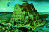 The Tower of Babel- 300pc Glow in the Dark Jigsaw Puzzle By Tomax