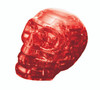BePuzzled Skull Red 3D Crystal Puzzle