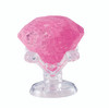 BePuzzled Pink Diamond 3D Crystal Puzzle