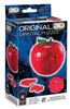 Apple (Red) - 43pc 3D Crystal Interlocking Assembly Puzzle