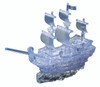 BePuzzled Pirate Ship Clear 3D Crystal Puzzle