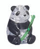 BePuzzled Panda 3D Crystal Puzzle