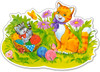 Kitten Family - 12pc Jigsaw Puzzle By Castorland (discon-24172)