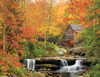 White Mountain Old Grist Mill Jigsaw Puzzle