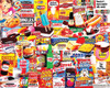 White Mountain The Things I Ate as a Kid 1000-piece Jigsaw Puzzle