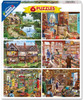 6 in 1 Steve Crisp - 300,500,1000pc Jigsaw Puzzle By White Mountain