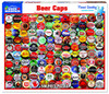 Beer Caps - 500pc Jigsaw Puzzle By White Mountain