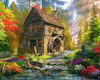 Mill Cottage - 1000pc Jigsaw Puzzle by Vermont Christmas Company