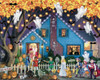 Ghostly Gathering - 1000pc Jigsaw Puzzle by Vermont Christmas Company