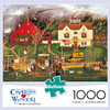 Charles Wysocki: Fireside Companion - 1000pc Jigsaw Puzzle By Buffalo Games