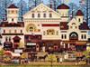 Charles Wysocki: Victorian Street - 1000pc Jigsaw Puzzle By Buffalo Games