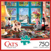 Puzzler's Desk - 750pc Jigsaw Puzzle By Buffalo Games