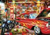 Retro Garage - 500pc Jigsaw Puzzle By Buffalo Games