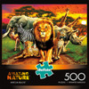 African Beasts - 500pc Jigsaw Puzzle By Buffalo Games