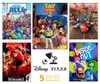 Disney: Pixar - 5 in 1 Jigsaw Puzzle by Ceaco