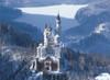 Neuschwanstein Castle - 500pc Glow in the Dark Jigsaw Puzzle By Tomax